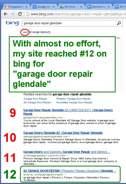 Glendale az garage door repair experiment scottsdale for Surprise garage door repair